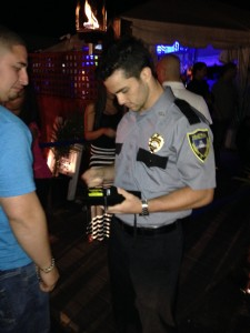nightclub security